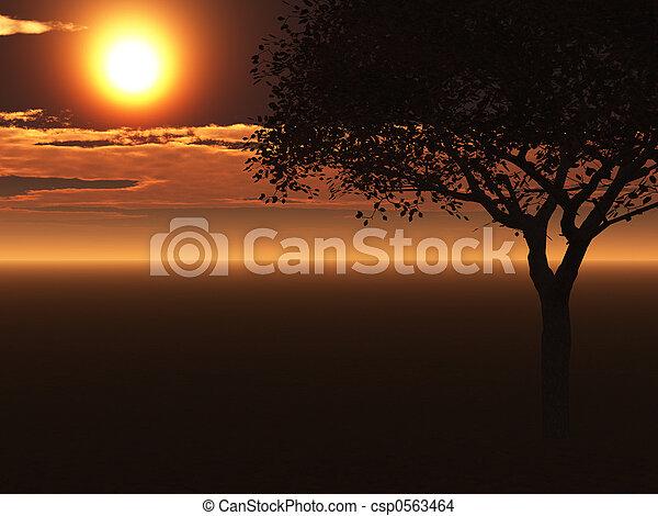 Un solo árbol - csp0563464