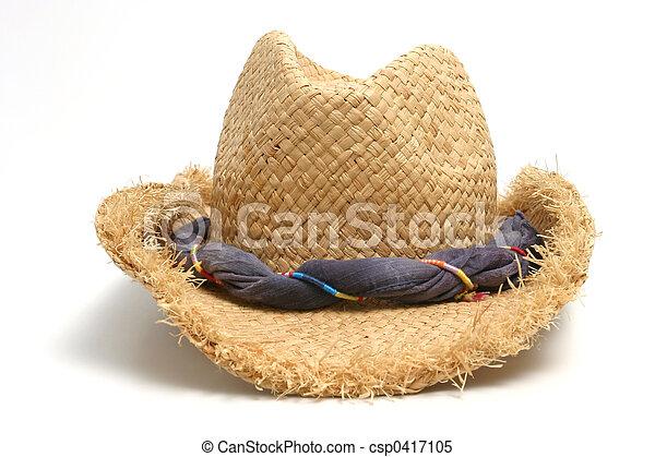 Sombrero de paja - csp0417105