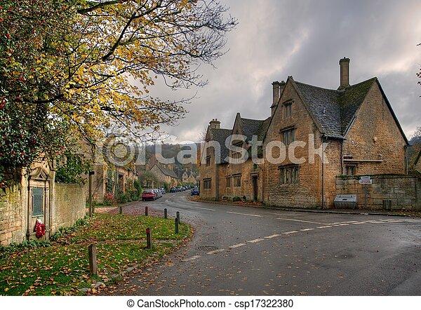 Stanton Village, Cotswolds - csp17322380