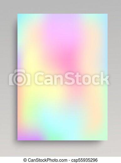 Suave y colorido gradiente - csp55935296