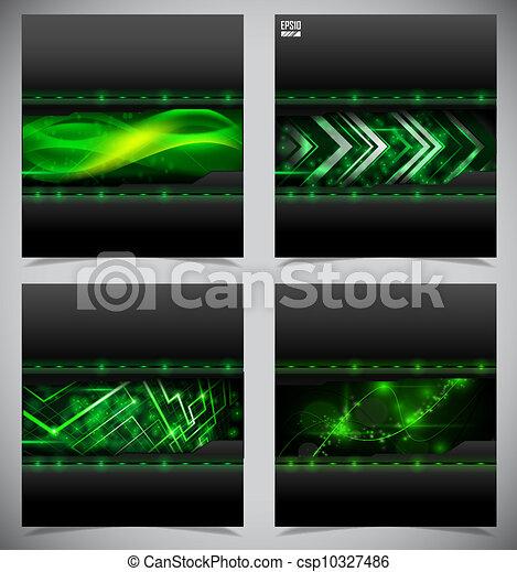 Suaves y pintorescos antecedentes técnicos abstractos - csp10327486