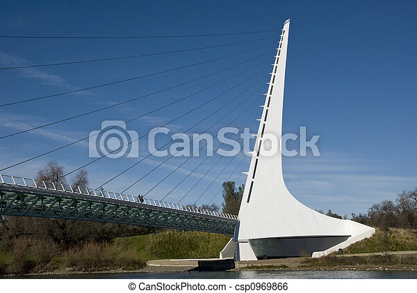 Puente solar - csp0969866