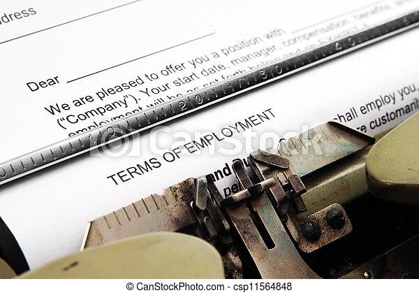 Termas de trabajo - csp11564848