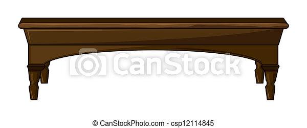 Una mesa - csp12114845
