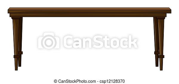 Una mesa - csp12128370