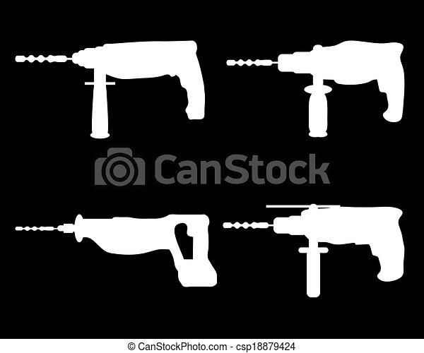 Drills - csp18879424