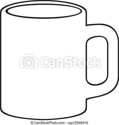 Taza de café. - csp12546416
