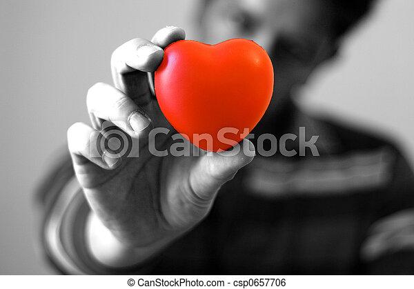 Te doy mi corazón - csp0657706