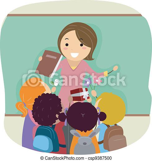 Día de maestros - csp9387500