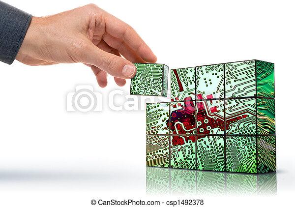 Crear tecnología - csp1492378