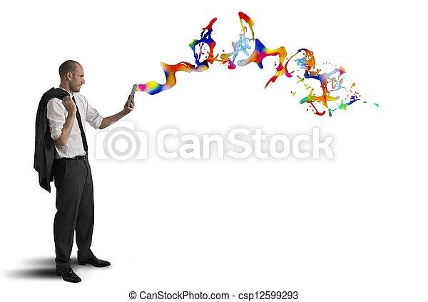 Tecnología creativa - csp12599293