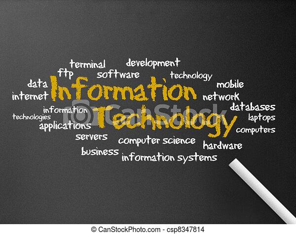 Tecnologia de información - csp8347814