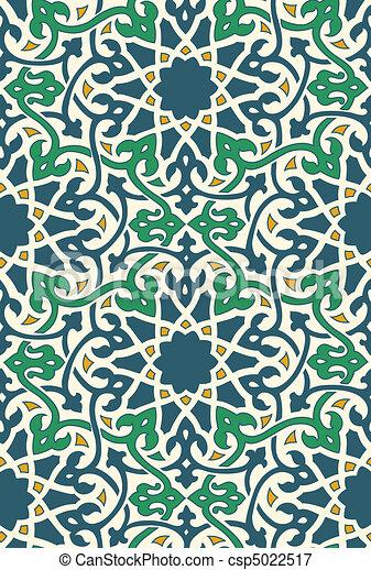 Tejas árabes - csp5022517