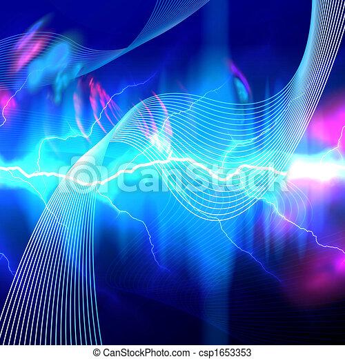 Telón de fondo eléctrico - csp1653353