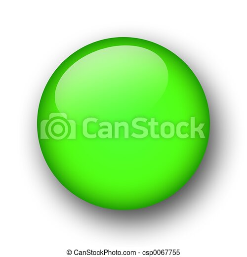 Botón de telaraña verde - csp0067755