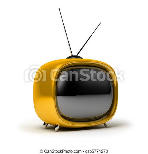 Retro TV - csp5774278