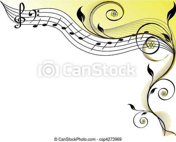 Tema musical - csp4273969