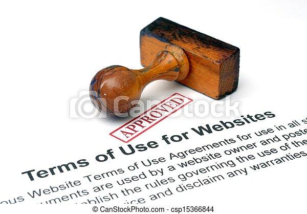 Temas de uso de sitios web - csp15366844