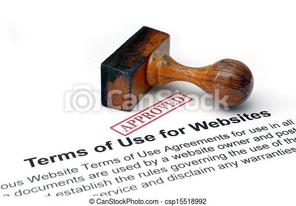 Temas de uso de sitios web - csp15518992