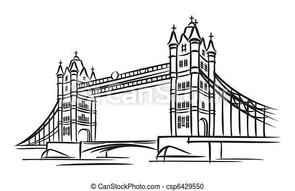 Puente de torre - csp6429550