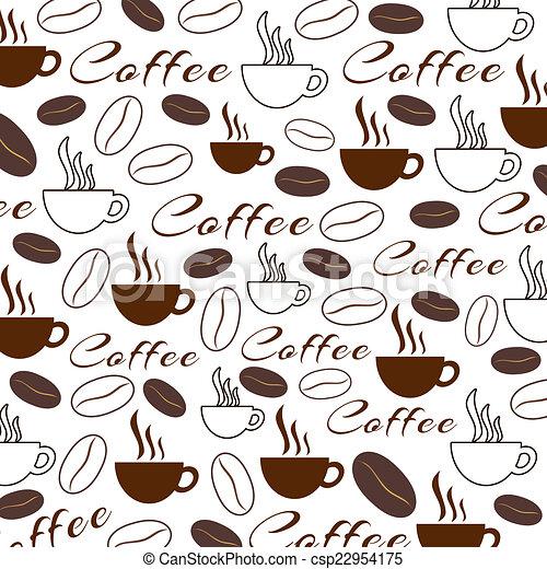 Textura de café - csp22954175