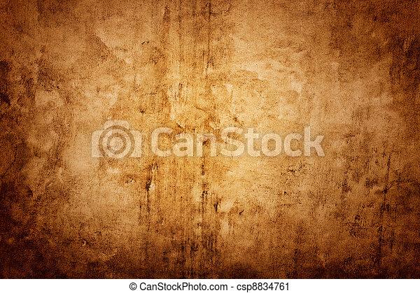 textura de pared marrón - csp8834761