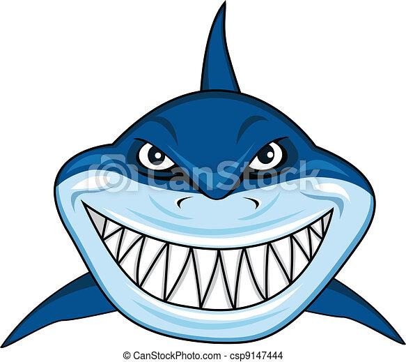 Tiburón sonriente - csp9147444