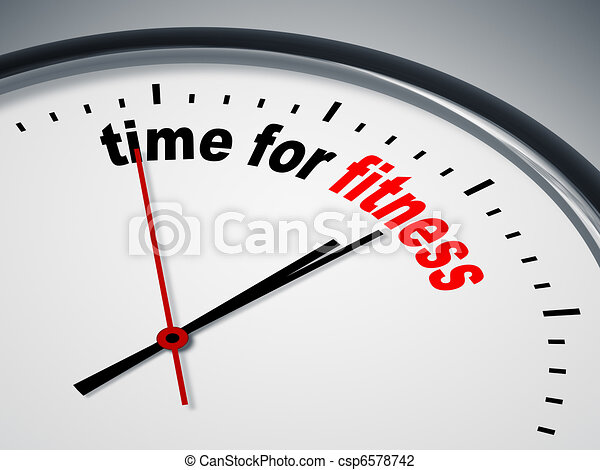 Hora del ejercicio - csp6578742