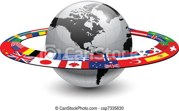 Planeta Tierra - csp7335630