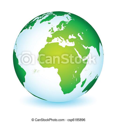Un icono mundial de la Tierra - csp6185896