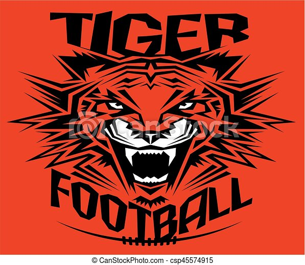Fútbol de tigre - csp45574915