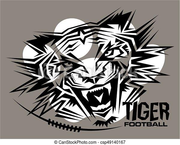Fútbol de tigre - csp49140167