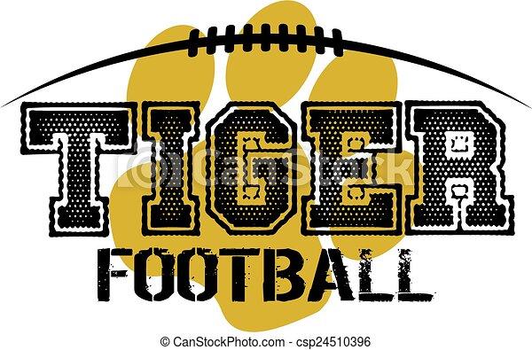 Fútbol de tigre - csp24510396