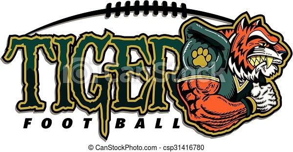 Fútbol de tigre - csp31416780