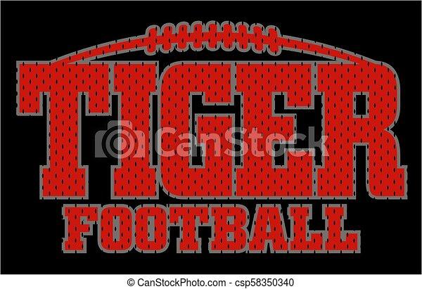 Fútbol de tigre - csp58350340