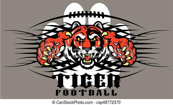 Fútbol de tigre - csp48772370