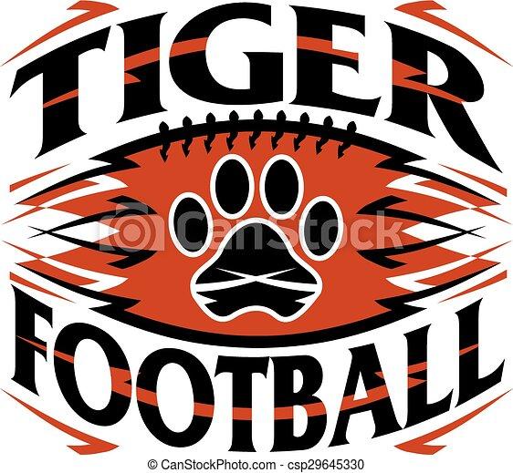 Fútbol de tigre - csp29645330