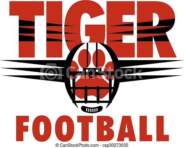 Fútbol de tigre - csp30273035