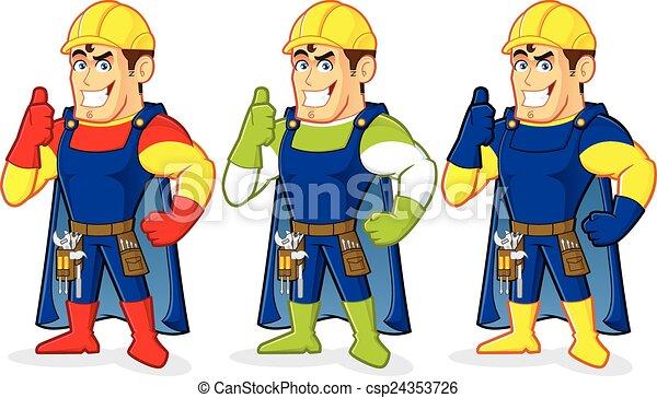 Constructor de superhéroes - csp24353726