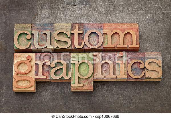 Espectáculos gráficos en madera - csp10067668