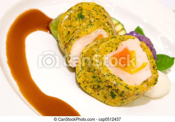 Tofu y pimienta a la parrilla - csp0512437