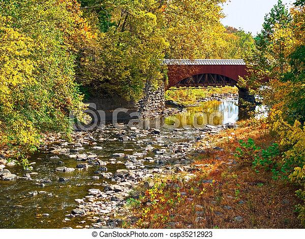 Tohickon Creek Acueducto - csp35212923