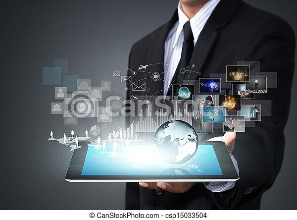 Toque la tecnología de pantalla - csp15033504