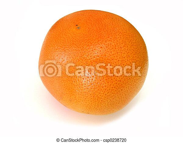 Fruta en blanco - csp0238720