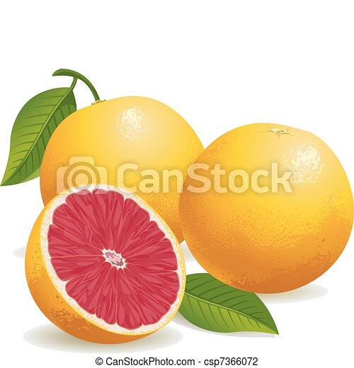 Fruta rosa - csp7366072