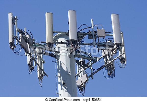 Torre de teléfono celular - csp4150654