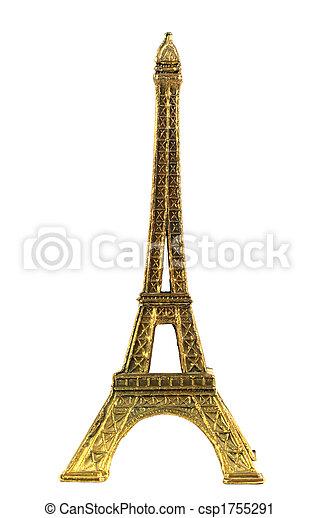 Torre Eiffel minatura - csp1755291