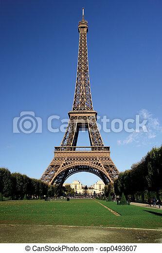 Torre Eiffel - csp0493607