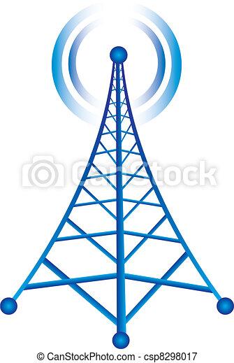 Torre con radio - csp8298017