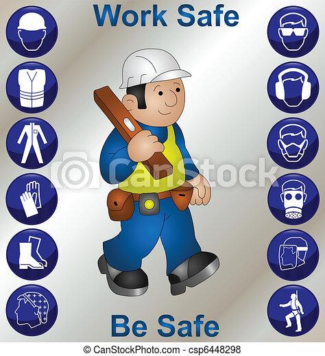 Trabajador de construcción - csp6448298
